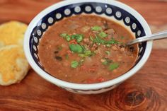 smokey black bean and lentil soup (gf, df, v) - one lovely life