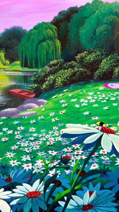 Alice In Wonderland Background, Alice In Wonderland Aesthetic, Alice In Wonderland 1951, Film Disney, Disney Art, Wallpaper Animes, Wallpaper Backgrounds, Disney Love, Disney Magic