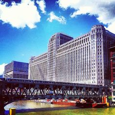 The Merchandise Mart in Chicago, IL - One of the largest buildings in the world. Home to hundreds of business to business merchants. Chicago Gifts, Chicago Usa, Chicago Travel, Chicago Style, Chicago Illinois, Chicago Poster, My Kind Of Town, Beautiful Architecture, Adventure Is Out There