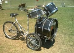 drum bike - not sure if I should add it to that pinboard or the drums one :)