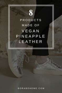 8 products made of vegan pineapple leather - pinatex Pineapple Leather, Grow Together, Fashion Group, Ethical Fashion, Sustainable Fashion, Fashion Inspiration, Vegan, Board, Blog