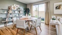 Evolve - Pardee Homes Pardee Homes, Gated Community, Common Area, Townhouse, Kitchen Dining, Building A House, Dining Chairs, Home And Family, New Homes