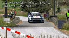 Volkswagen Polo R WRC   Stage I   Rally Slovenia