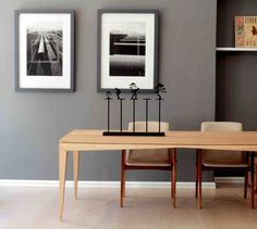 Bridge Dining Table in Oak - by Leonard de Villiers for EBONY.