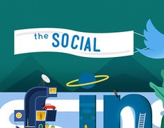 """Check out new work on my @Behance portfolio: """"the social (media)"""" http://be.net/gallery/33163285/the-social-(media)"""