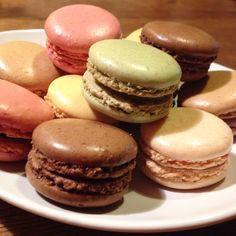 Macaroons with family