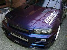 Nissan Skyline R34 GTR Midnight Purple III