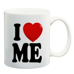 Amazon.com: I LOVE ME Mug Cup - 11 ounces: Kitchen & Dining