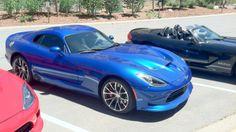 Blue SRT Viper