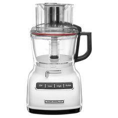 KitchenAid® 9-Cup Food Processor with ExactSlice™ System- White KFP0933