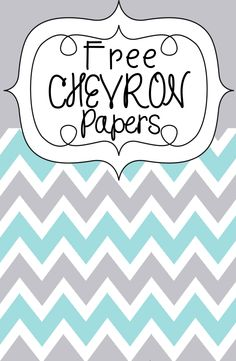 FREEBIE! Chevron Papers and star graphics!