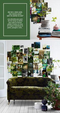 green wall #decor #green