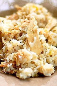 Chicken and Rice Recipe is a Southern favorite and the perfect comfort food.
