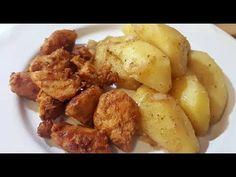BUCATELE DE PUI SI CARTOFI MOI, LA TIGAIE - YouTube Potatoes, Vegetables, Youtube, Desserts, Food, Tailgate Desserts, Deserts, Potato, Essen