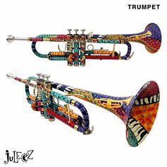 Colored Trumpets