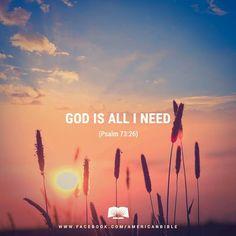 REDE MISSIONÁRIA: GOD IS ALL I NEED