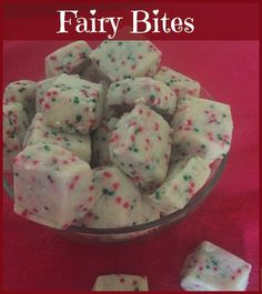 Fairy Bites ingredients, directions, and special baking tips from The Elf to make this shortbread recipe in miniature. Christmas Cookies Kids, Cookies For Kids, Christmas Cooking, Shortbread Recipes, Cookie Recipes, Baking Tips, Dessert Bars, Cookie Bars, Elf
