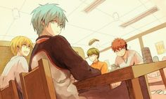Anime/Manga Fan Art Archives: Kuroko no Basuke fan art