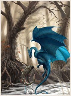Autumn Blue by ~Salawati on deviantART
