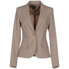 Seventy Blazer ( 260) ❤ liked on Polyvore featuring outerwear, jackets,  blazers, grey, grey jacket, lapel jacket, single breasted jacket, gray  jacket and ... b5f205fb8b3