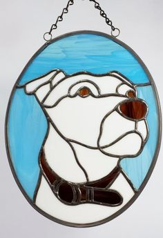 """Wallace"" - Delphi Stained Glass"