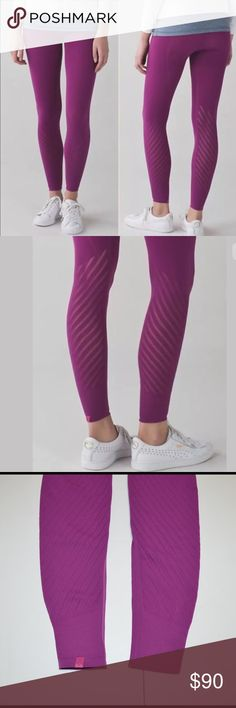 New Lululemon enlighten tight yoga pant size M These featherlight, high-rise tights have mesh construction to let you bend and breathe freely. Fabric is four-way stretch. Logo at the leg bottom. Size M, fits 6-8. lululemon athletica Pants