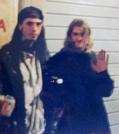 nirvana | Flickr - Photo Sharing! Kurt Cobain and Dave Grohl