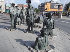 Anonymous Pedestrians sculpture by Jerzy Kalina by termitesauce, via Flickr