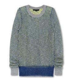 Alexander Wang : Metallic boucle ls pullover(2012SS)