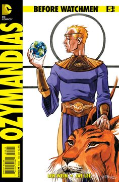 """Exclusive DC Comics Preview: """"Before Watchmen: Ozymandias #5"""" _ All around the world, statues crumble for me..."""