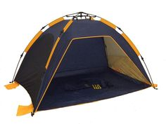 Genji Sports Instant Push Up Beach Tent Sun Shelter Beach - Camping Tent - Tent Hiking Tent, Camping Cot, Best Tents For Camping, Camping With Kids, Camping Gear, Camping Hacks, Beach Camping, Camping Outdoors, Family Camping