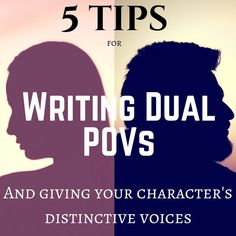 Lauryn April Writes: Tips for Writing Dual POVs with Distinctive Voices - Creative Writing Tips, Book Writing Tips, Writing Quotes, Writing Process, Writing Resources, Writing Help, Writing Skills, Writing Romance, Writing Ideas