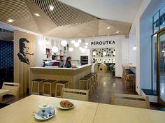 Café Peroutka. Design: monom.