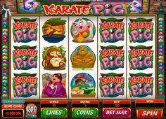 Lerne dich selbst zu beschützen! Karate Pig Automatenspiel von Microgaming bringt dir alles bei! Ihn findest du kostenlos bei Onlinecasinohex.de!