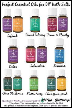 Bath Salts Essential Oils at thatswhatchesaid.com