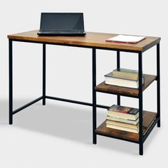 Wood and Metal Williard Desk | World Market