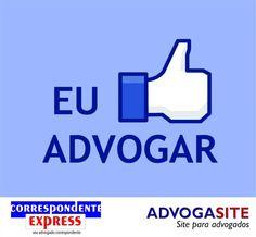 I like to advocate, you like too?  Eu curto advogar e você também?