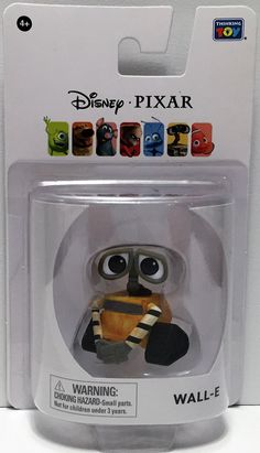 Thinkway Toys Disney Pixar Action Figure - Wall-E This item is NOT in Mint Condition and is in no way being described as Mint or even Near Mint. Our toys have not always lead the perfect life, nor hav