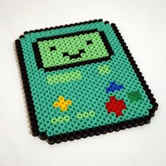 We think BMO has to be one of the cutest characters from a TV show ever, so we made him into this fridge magnet... just make sire he doesnt get in