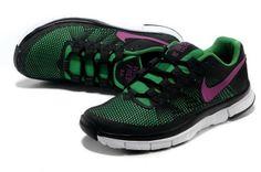 06b4e28105ee Nike Free Trainer 3.0 Black Reflect Green  Black  Womens  Sneakers