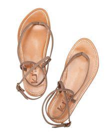 K JACQUES ST TROPEZ  Delta suede sandals