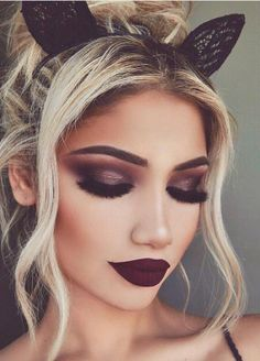 """Kylie's Leo Lip Kit is a deep wine red that works well with just about every skin tone.   25 Incredible New Beauty Products That Will Make You Say """"Want"""""""