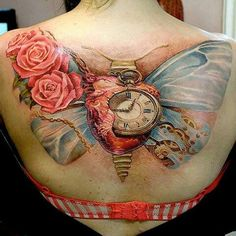 Steampunk tattoo.  I don't care for tattoos, but do appreciate the art.  This is the most beautiful one I've seen thus far!