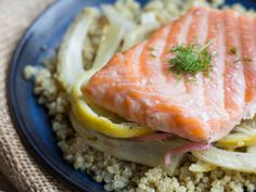 21 day tummy fennel salmon