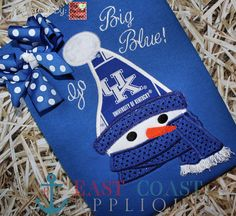 SNOW SNUGGLER machine embroidery design by EastCoastApplique, $4.00