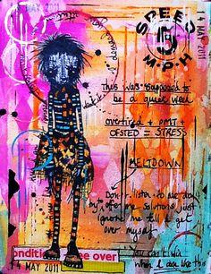 Art Journal - Bad Week by thekathrynwheel, via Flickr