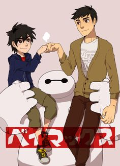 くコ:ミ (At last, I watched BIG HERO 6… That movie...)