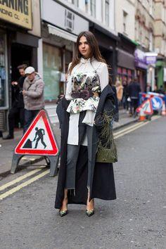 Street style London Fashion Week AW16 Source:Harper's Bazaar