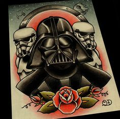Dirty HeroArtist's Movie Icons in Traditional Tattoo Style | Dirty Hero