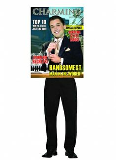 Magazine Cover Charming Guy - Party Britain Fancy Dress